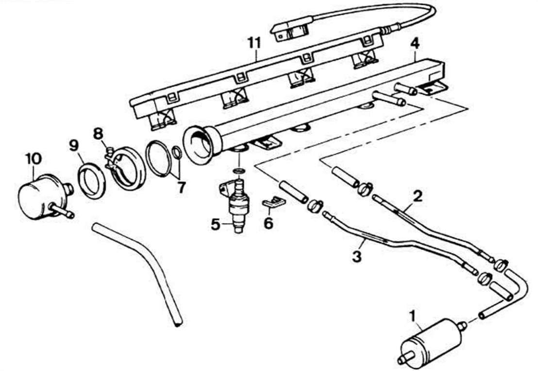 схема топливной системы фольксваген венто 2 е
