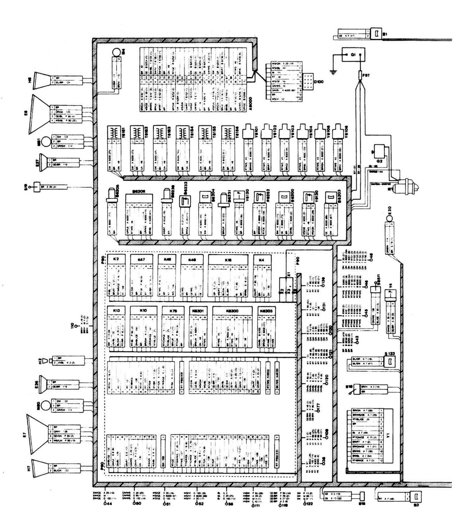схема каробки передач бмв м 20