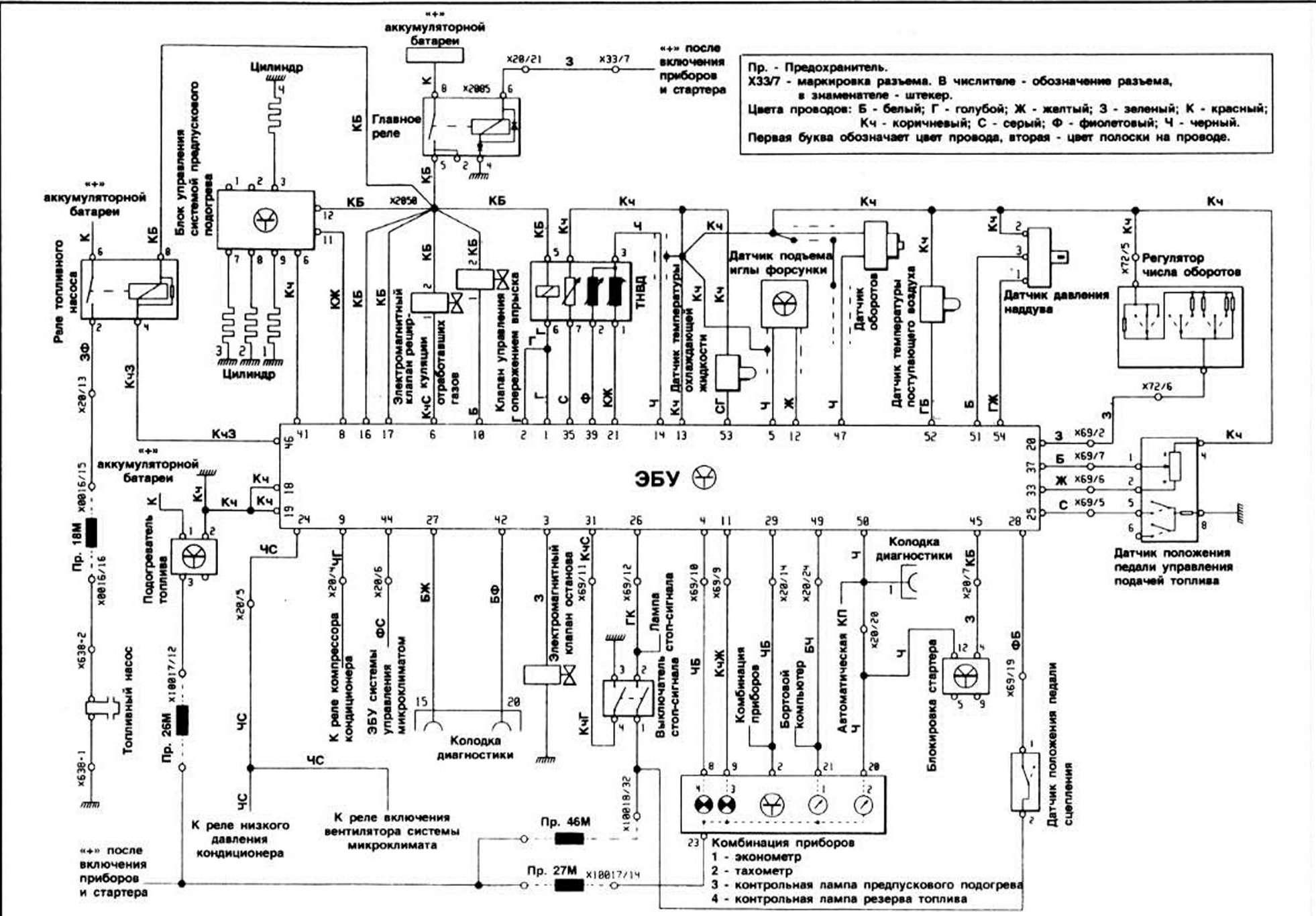 електрическая схема на бмв е 36